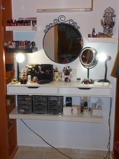 1000 images about tocador on pinterest vanities - Soluciones para espacios pequenos ...