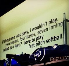 inspirational softball quotes - Google Search