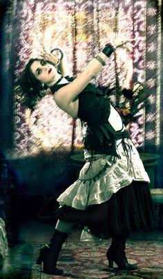 gothic belly dancer