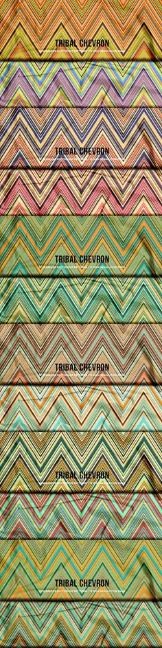 A modern set of chevron patterns with a tribal vibe. These resources come in two flavors: a pattern preset ready to install and use in Photoshop and a dozen Chevron Patterns, Layer Style, Photoshop Design, App Design, Pattern Design, Graphic Design, Prints, Application Design, Visual Communication