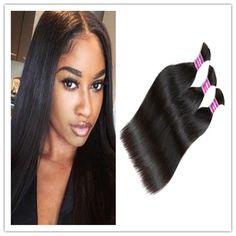 Christmas8a 100 unprocessed brazilian virgin kinky straight virgin hair bulk 1b indian remy human hair extensions 14 32 hair braid straight hair pmusecretfo Gallery