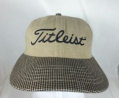 #Titleist #ScottyCameron #Golf #Cap Hat #Leather #StrapBack #TheArtOfPutting http://cgi.ebay.com/231902434596