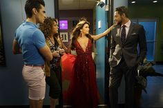 Television shows we said goodbye to in 2016:      Telenovela ﴾NBC﴿  -   First episode: Dec. 7, 2015 Final episode: Feb. 22, 2016 The comedy series starring Eva Longoria and Jencarlos Canela in the roles of Ana Sofia Calderon and Xavier Castillo, respectively, showcased the behind‐the‐scenes happenings of a Brazilian soap opera and the day‐to‐day life of the show's stars.