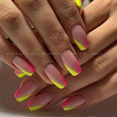 Summer Acrylic Nails, Best Acrylic Nails, Acrylic Nail Designs, May Nails, Love Nails, Gorgeous Nails, Pretty Nails, Nagellack Design, Square Nail Designs