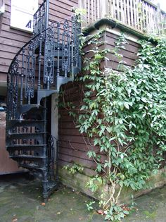 Cool Spiral Staircases   Cast Iron And Metal Edition   Democratic  Underground | Makers Alley | Pinterest | Spiral Staircases, Spiral And  Victorian Design