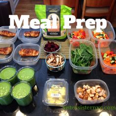 I started prepping meals for the week & love it! Saves lots of time & keeps me eating healthy! Healthy Meal Prep, Healthy Recipes, Healthy Food, Eating Healthy, Plan Ahead Meals, Clean Eating Recipes, Cooking Recipes, Meals For The Week, Food Preparation