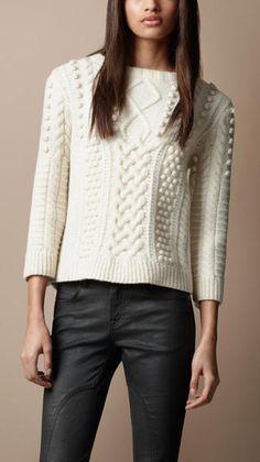 white burberry sweater - Google Search