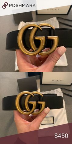 9479d0df3f64 Size 75. Worn once. Comes with original dust bag, box, and I still have  original receipt from the Gucci store. Gucci Accessories Belts