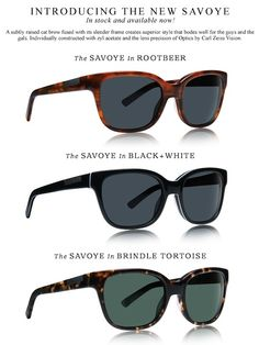 Raen Optics Style Savoye, for men and women