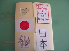 Japan lapbook and resources. #homeschooling