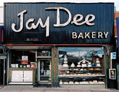 ideas bread shop window store fronts for 2019 Vintage Bakery, Vintage Shops, Rego Park, Bakery Store, Bakery Sign, Store Front Windows, Bread Shop, Cool Typography, Vintage Typography