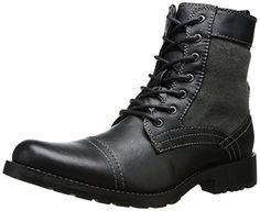 Steve Madden Men's Sentree Combat Boot,Black,10.5 M US Steve Madden http://www.amazon.com/dp/B00KX20I0W/ref=cm_sw_r_pi_dp_qMpEub0ZBRFAJ