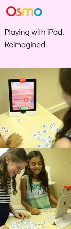 Osmo has reimagined the learning experience for kids. With Osmo, they can play outside the screen of their iPad with friends, family, or alone at their own speed. The best part is that Osmo is customizable for almost any learning experience! Makes the perfect back to school gift for any kid who loves to play.