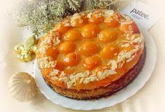 Миндальный торт с абрикосами