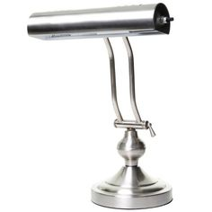 Boston Harbor ATB8004 Piano Desk Lamp Satin Nickel >>> To view further for this item, visit the image link.