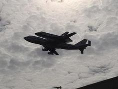 The space shuttle Discovery made its final flight to Washington, DC this morning. I happened to be in the right place at the right time to see a shuttle atop a 747 land at Robins Air Force Base (due to storms in Florida). Still gives me goosebumps.