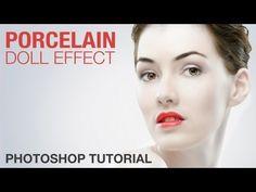 Photoshop: Porcelain Doll Effect (Photo Retouching)   IceflowStudios - YouTube