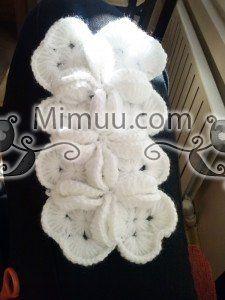 Farklı Motif Birleştirmeli Bebek Battaniyesi Yapılışı