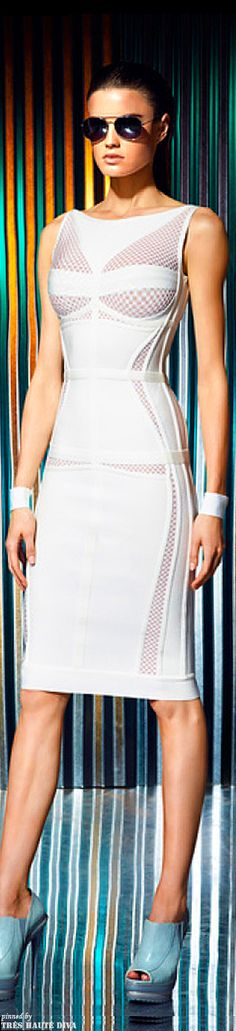Herve Leger by Max Azria Resort 2014 | The House of Beccaria