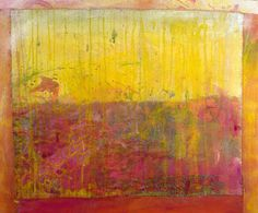Frank Bowling, And Sand Flies Too, 2008 Painting Abstract, Painting & Drawing, Digital Museum, Royal College Of Art, Bowling, Modern Art, Artists, Texture, Drawings