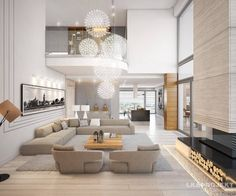 Living Room Ideas: How to Get a Luxury Living Room with Dazzling Living Room Furniture Golden lighting is a must have. As an interior designer, you can discover modern luxury living room design ideas combining luxurious materials with a light gold