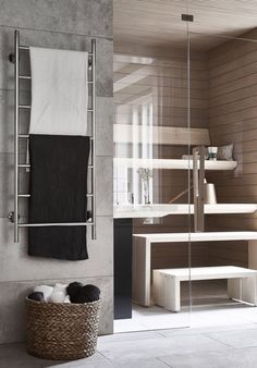 scandinavian bathroom 42 Awesome Scandinavian Bathroom Design Ideas - Planning and creativity is the key ingredient to give your bathroom a lavish, yet classic look. There are countless bathroom ideas to create a masterp. Bathroom Red, Laundry In Bathroom, Modern Bathroom, Bathroom Ideas, Bathroom Remodeling, Bathroom Furniture, Master Bathroom, Bathroom Design Layout, Bathroom Interior Design
