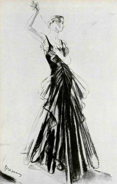 1932 - Chanel black dress