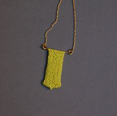 Macrame Neon Pendant by Kekkavics on Etsy