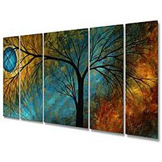 Megan Duncanson 'Beauty in Contrast' Metal Wall Art $319.99