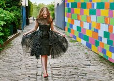 http://media.vogue.com/files/Vogue gets a head start on fall trends by unearthing inspired, affordable options in chic vintage shops. Today, we search for polka dot looks at New York Vintage.