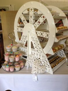 Ferris Wheel Candy Cart is totally different to the traditional candy cart