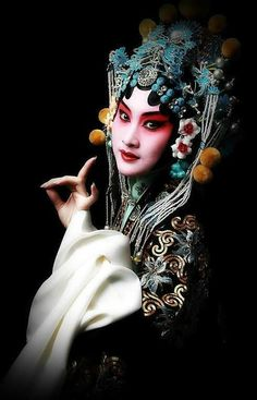 Beijing opera So beautiful !  | You Can Have a Pretty Face and a Sexy Smile With Zak Facial Acupuncture in London . Call: 07967525168