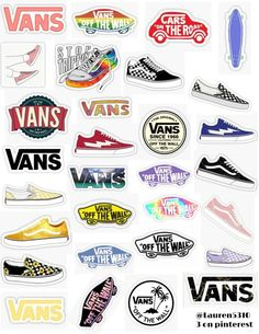 vans stickers  stickers sticker pack retro vintage sticker pack overlays edits hydroflask stickers laptop stickers phone case stickers trendy cute aesthetic tumblr niche popular teen teenager artsy art hoe basic teen find your aesthetic old skool vans off the wall checkered vans vans slipped on vans colors Tumblr Stickers, Phone Stickers, Cute Stickers, Suitcase Stickers, Logo Stickers, Brand Stickers, Blond Amsterdam, Laptop Wallpaper Desktop Wallpapers, Wallpaper Stickers