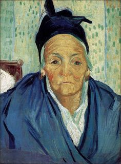 Art of the day: Vincent van Gogh (1853-1890), An Old Woman of Arles, February 1888. Oil on canvas, 58.0 x 42.5 cm. Van Gogh Museum, Amsterdam.