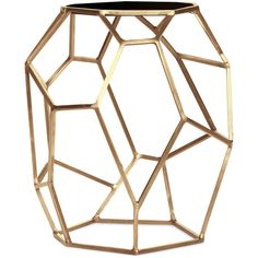 Matrix Side Table found on Polyvore