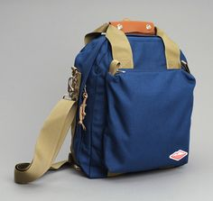 Battenwear - 3 WAY COMMUTER BAG, BLUE :: HICKOREE'S
