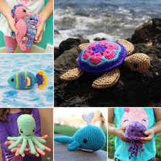 Sea Turtle Amigurumi - Free Crochet Pattern Loops & Love Crochet Crochet Turtle Pattern, Crochet Patterns Amigurumi, Crochet Toys, Knitting Patterns, Amigurumi Toys, Love Crochet, Single Crochet, Crochet Things, Yarn Needle