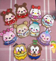 Perler Bead Templates, Pearler Bead Patterns, Diy Perler Beads, Perler Bead Art, Perler Patterns, Pixel Art, Hama Beads Disney, Hamma Beads Ideas, Disney Cross Stitch Patterns