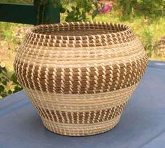 Sweetgrass baskets...a South Carolina favorite