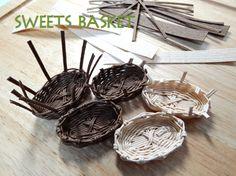 SWEETS BASKET (S*Basket)-かご作り途中1211