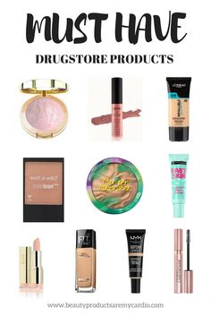 Must Have Drugstore Products