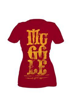 Harry Potter Muggle Tshirt