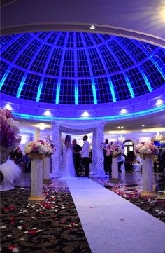The Dome Room At Jericho Terrace Is Perfect Place To Host A Ceremony This Customized E For Best Day Of Their Lives