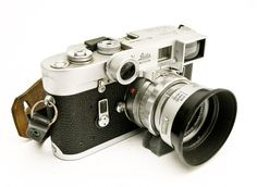 photograph of an old Leica M4 by Christopher Robin Roberts.