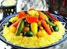Fruit Salad, Cobb Salad, Grains, Rice, Morocco, Food, Gastronomia, Gourmet, Moroccan Recipes