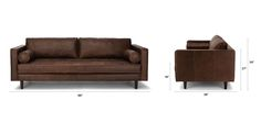 Sven Charme Chocolat Sofa - Sofas - Article | Modern, Mid-Century and Scandinavian Furniture