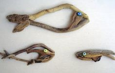 Driftwood Art & Crafts - Coastal Decor, Beach & Nautical Decor ...