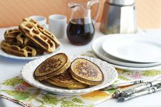 "Grain-free Pancake or Waffle Recipe-you can also use this as ""bread"" for a sandwich"