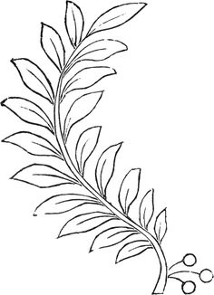 Draw Flower Patterns Embroidery Branch Images - Today I'm offering these lovely Embroidery Branch Images! This one was scanned from an Antique, Circa 1860 Ladies Hand Book, this book is filled with all sorts of different sewing and embroidery designs! Leaf Template, Flower Template, Paper Flowers Diy, Felt Flowers, Paper Embroidery, Embroidery Patterns, Paper Leaves, Pattern Art, Art Patterns
