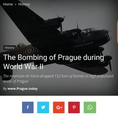 Read now: New Post from @prague.today  The Bombing of #Prague during World War II http://ift.tt/1TU6WYr via @sgpointprague #ww2 #history  #germany #military #worldwartwo #america #worldwarii #hitler #soldier #usarmy #german #nazi #bomber #plane #war #army